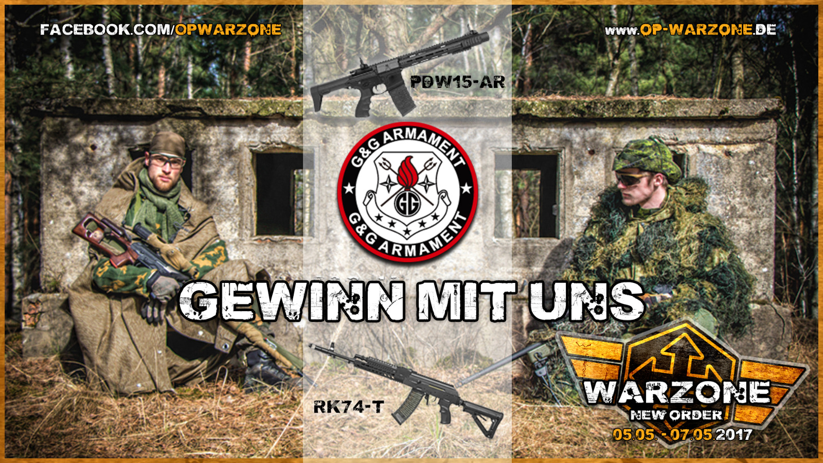 Operation WARZONE - M.I.T. Sniper Gewinnspiel!